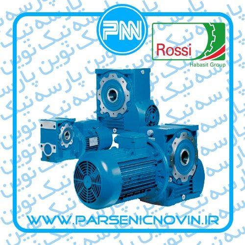 الکتروگیربکس حلزونی مکعبی Rossi روسی