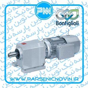 الکتروگیربکس شافت مستقیم هلیکال بونفیلیولی Bonfiglioli